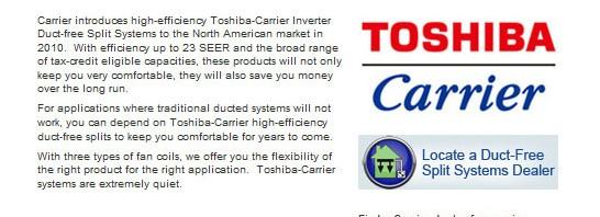 Varmepumper fra Toshiba har fået god kritik