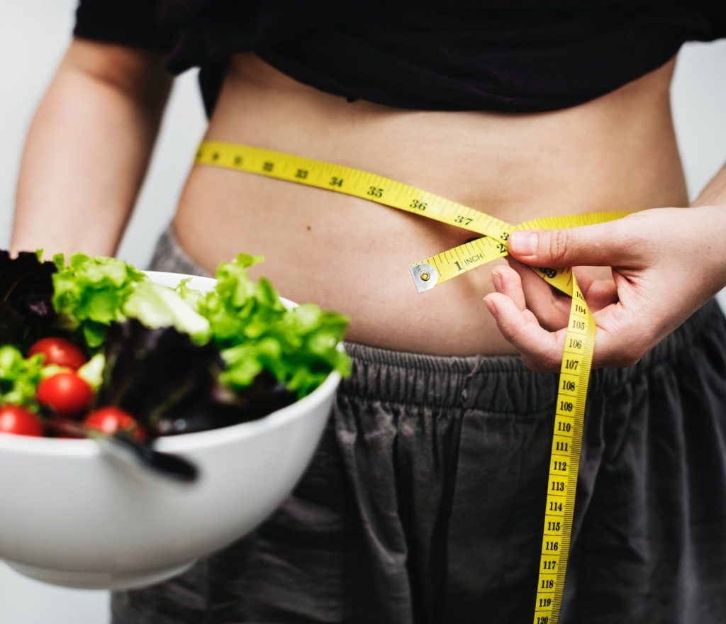 sulte sig selv vægttab